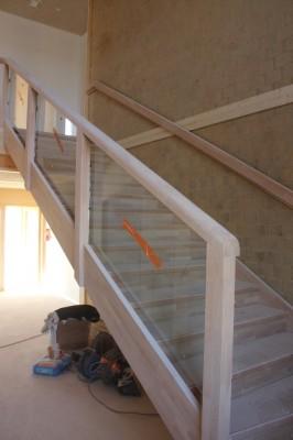 L'escalier est posé